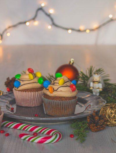 Baileys christmas cupcake