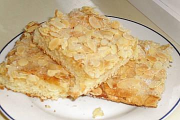 Chefkoch: Schneller Mandelkuchen. Für die Kuchentheke?
