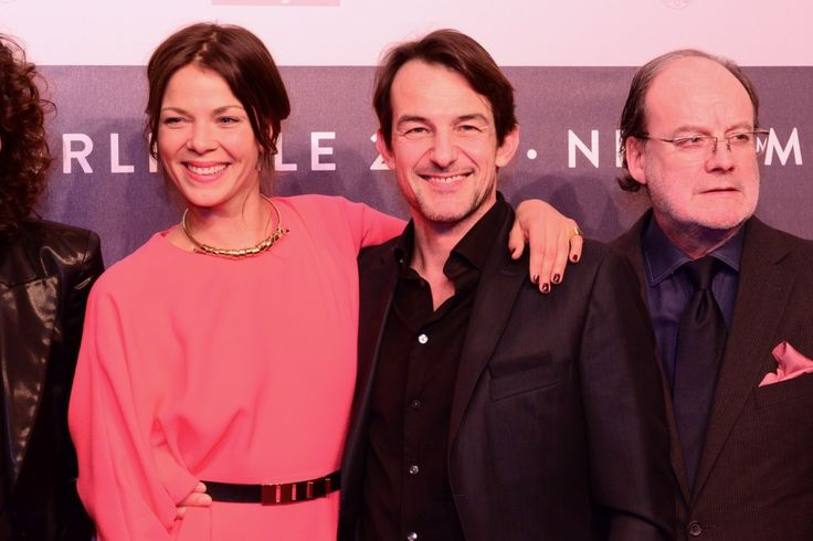 """Jessica Schwarz, Hans-Werner Meyer: Hauptdarsteller in """"Adieu Paris"""" von Franziska Bruch, Kinostart 2013. Foto: Martin Becker"""