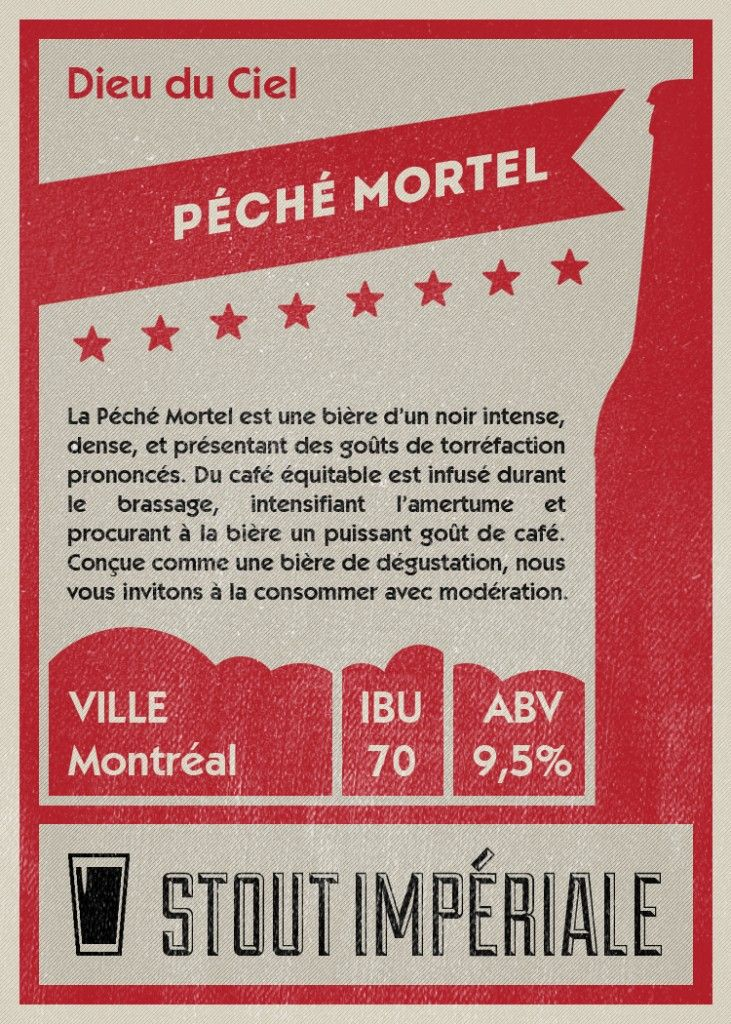 Péché Mortel vs La Vache Folle Milk Stout