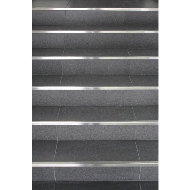 Best Stairnosing Com 4 Ft Standard Stair Nosing In Stainless 400 x 300
