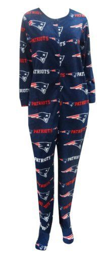 New England Patriots Ladies Onesie Footie Pajama for women, #patriots