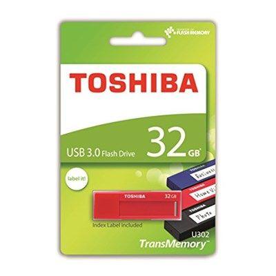 Chollo en Amazon España: Memoria USB de 32 GB Toshiba TransMemory U302 por solo 10,84€ (un 30% de descuento del precio anterior y precio mínimo histórico)