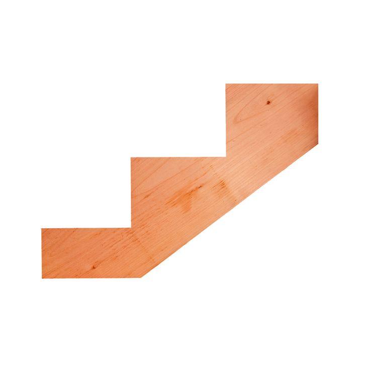 Best 3 Step Redwood Deck Stair Stringer 054699051560 In 2020 400 x 300