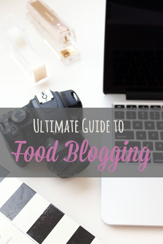 Ultimate Guide to Food Blogging with a round up of excellent articles, along with all the products, resources, and services I use to food blog full-time.