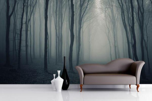 Fototapeten Wald - Genießen Sie die Ruhe der Natur! Wandtapeten mit Waldmotiven machen dies zu Hause möglich! - http://freshideen.com/wandgestaltung/fototapeten-wald.html