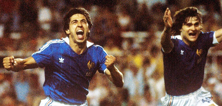 Alain Giresse & Didier Six. France-Allemagne 1982. The most dramatic match of football history.