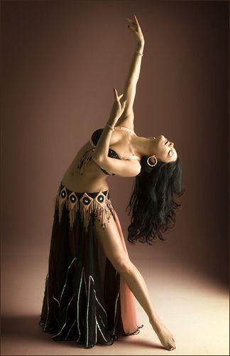 Beauty: Belly dancer.