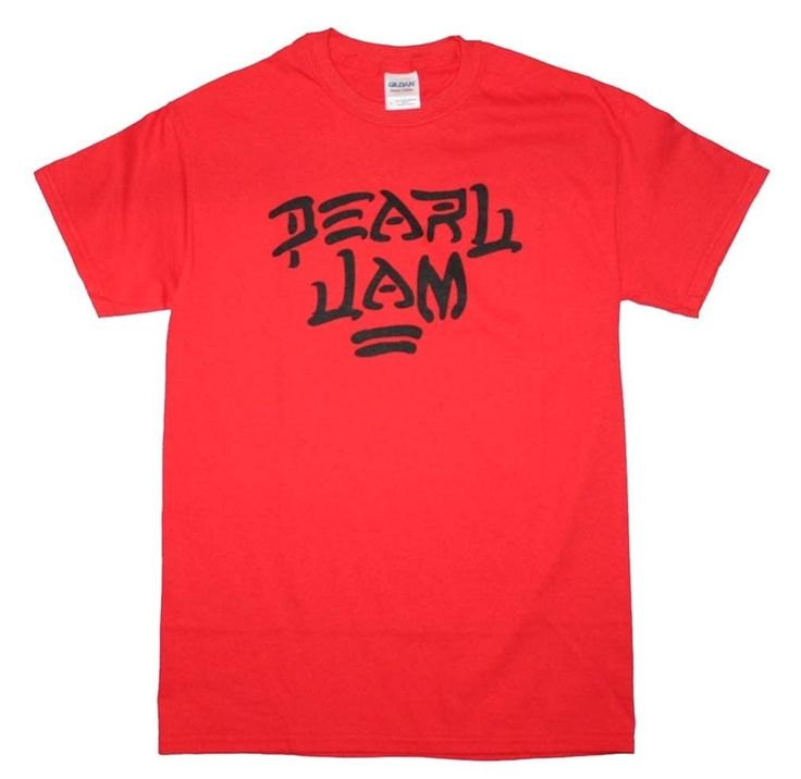 Pearl Jam 'Destroy' Red T-shirt (X-Large)
