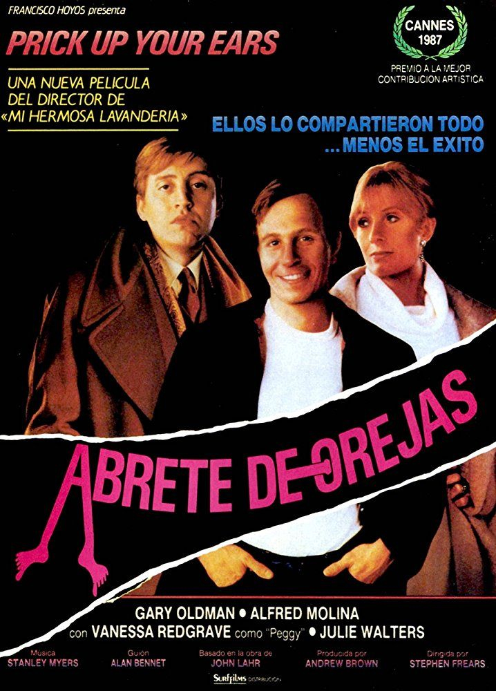 Directed by Stephen Frears. With Gary Oldman, Alfred Molina, Vanessa Redgrave, Wallace Shawn. This film is the story of the spectacular life and violent death of British playwright Joe Orton. In his teens, Orton is befriended by the older, more reserved Kenneth Halliwell, and while the two begin a relationship, it's fairly obvious that it's not all about sex. Orton loves the dangers of bath-houses and liaisons in public restrooms; Halliwell, not as charming or attractive as Orton, do...