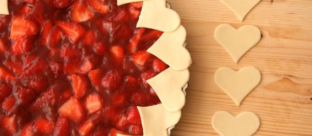 torta fragole american pie