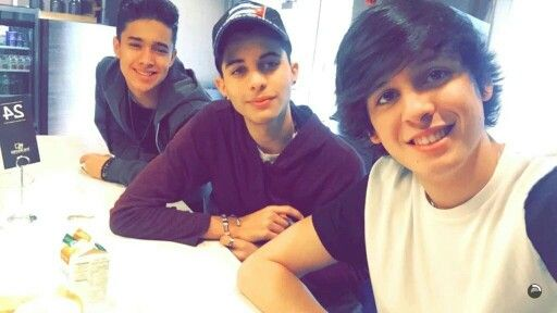 Joel, Erick, and Christopher CNCO 1.11.16