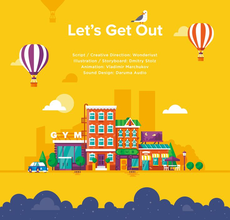 Let's Get Out / Explain video on Behance