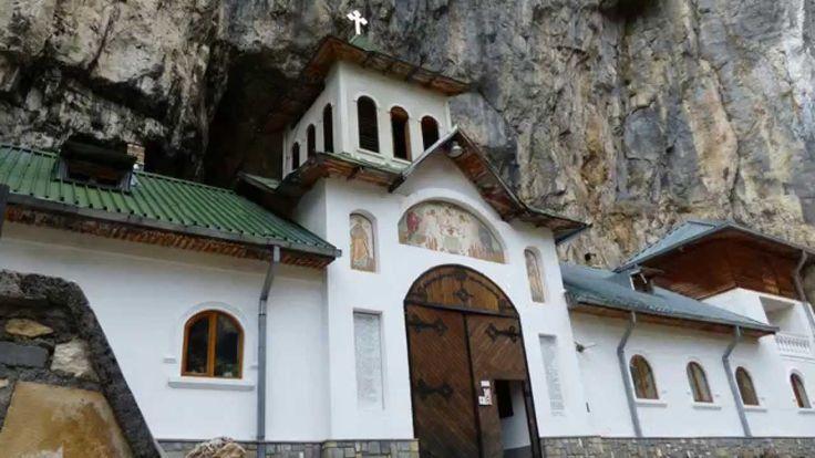 România cea frumoasă - Mânăstirea Peștera Bucegi