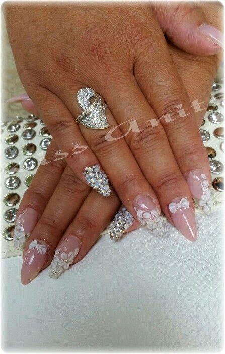 #crystalnails #opal #salon #nails