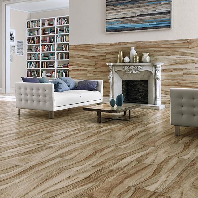 The Movement Of This Porcelain Wood Look Tile Is Unique To Mukali Series Ranging In 4 Beautiful Soft Colors