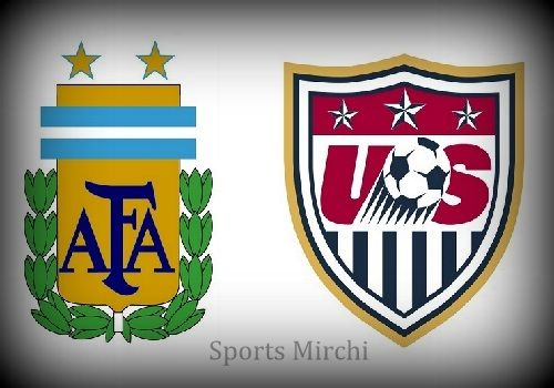 Wan to watch Argentina vs USA live telecast? Then find television channels list and broadcasting networks for United States vs Argentina football match.