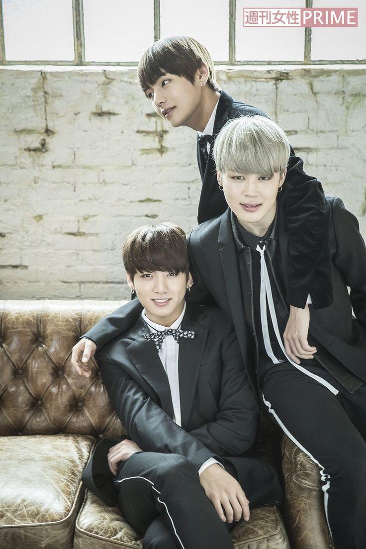 V, Jungkook e Jimin ❤~[BTS]~❤