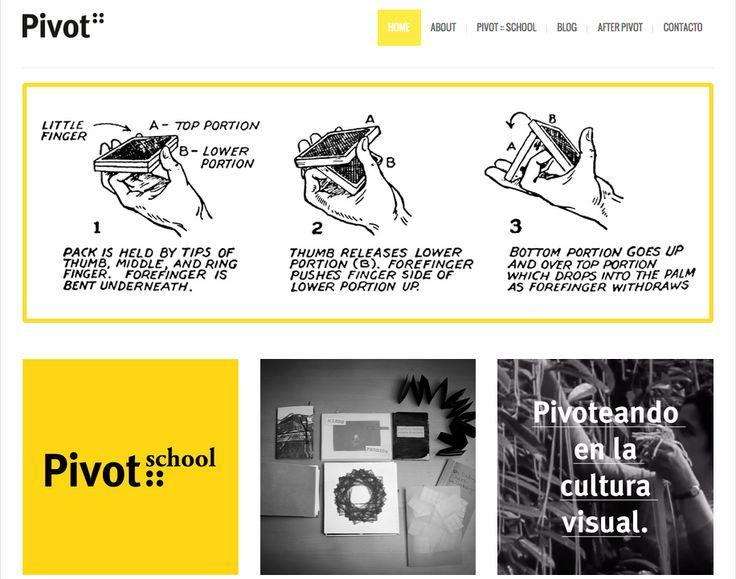Pivot.es :: ¡Nueva Web! ¡Nuevos Pivoteos! + info: www.pivot.es