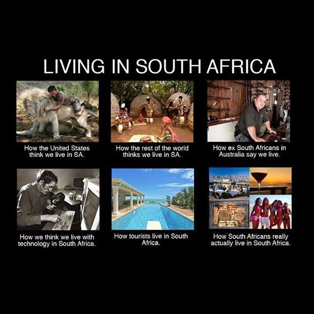 Oh our beloved country. How we live in South Africa #southafrica #capetown #living