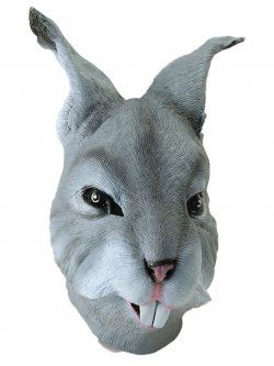 Rabbit Mask Gray