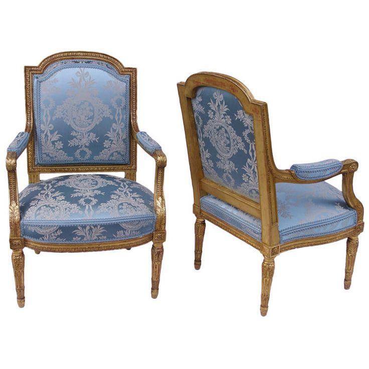 2930 best louis xvi style myo images on pinterest louis xvi bureaux et chaise victorienne - Chaise style louis xvi moderne ...