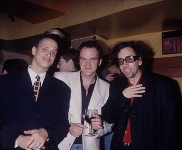 John Waters, Quentin Tarantino and Tim Burton