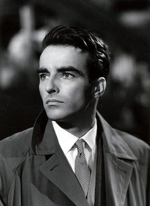 handsome, Montgomery Clift, 1950s