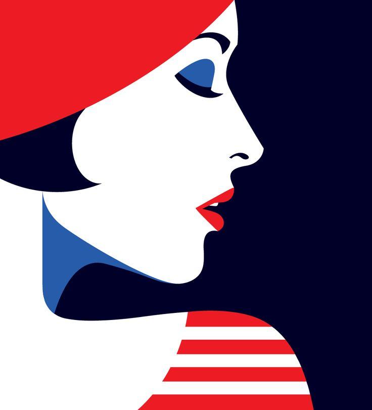 How to be more French -- Malika Favre illustration for Stylist Magazine UK July 2016