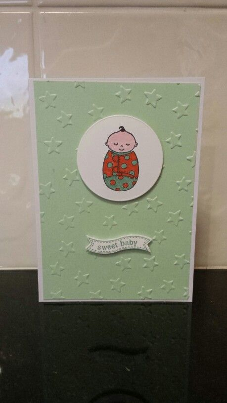 Lots of friends having babies means lots of reasons to make cards!