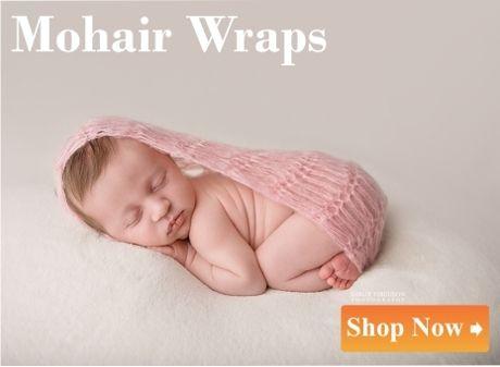 newborn mohair wrap
