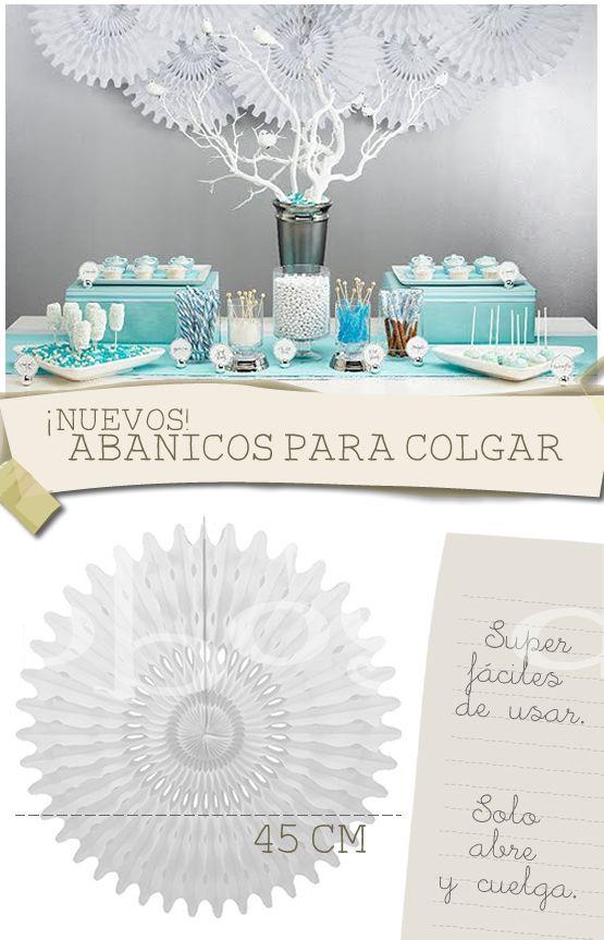 17 best images about accesorios y decoraci n para bodas - Abanicos para decorar ...