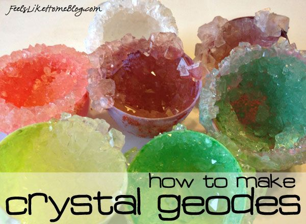 Grow Your Own Geodes! How to Grow Your Own Crystal Geodes - Cool Science Experiment for Kids