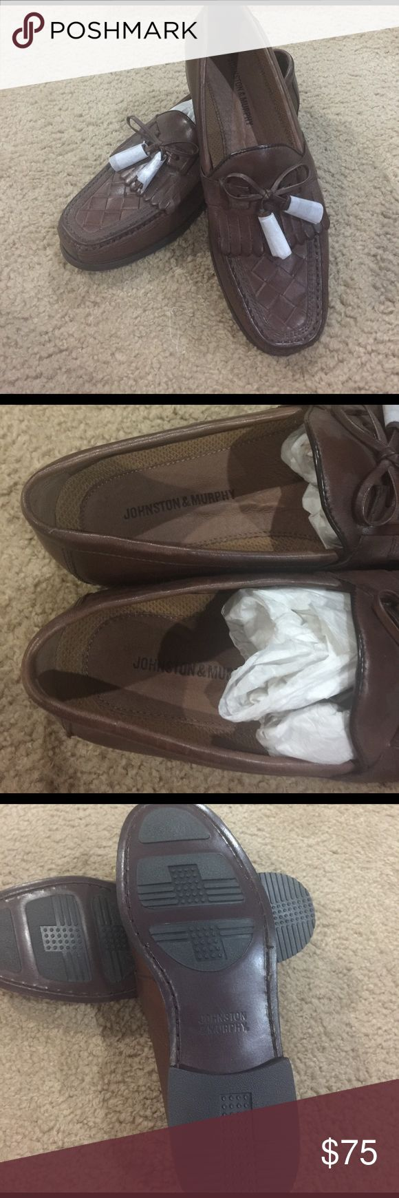 FLASH SALE PRICE 🚨 Johnston and Murphy Loafers Gorgeous, brand new, never worn Johnston and Murphy loafers. Johnston & Murphy Shoes Loafers & Slip-Ons