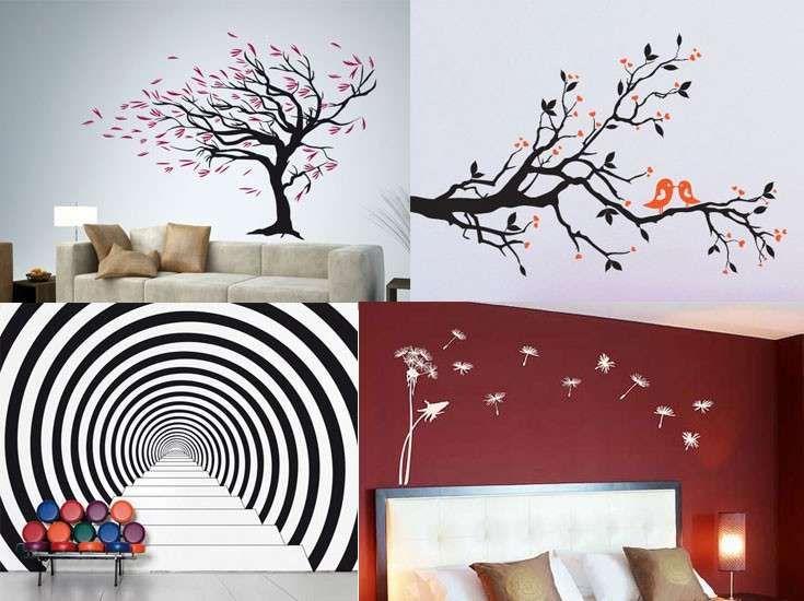 Decorazioni per le pareti (Foto)   Donna