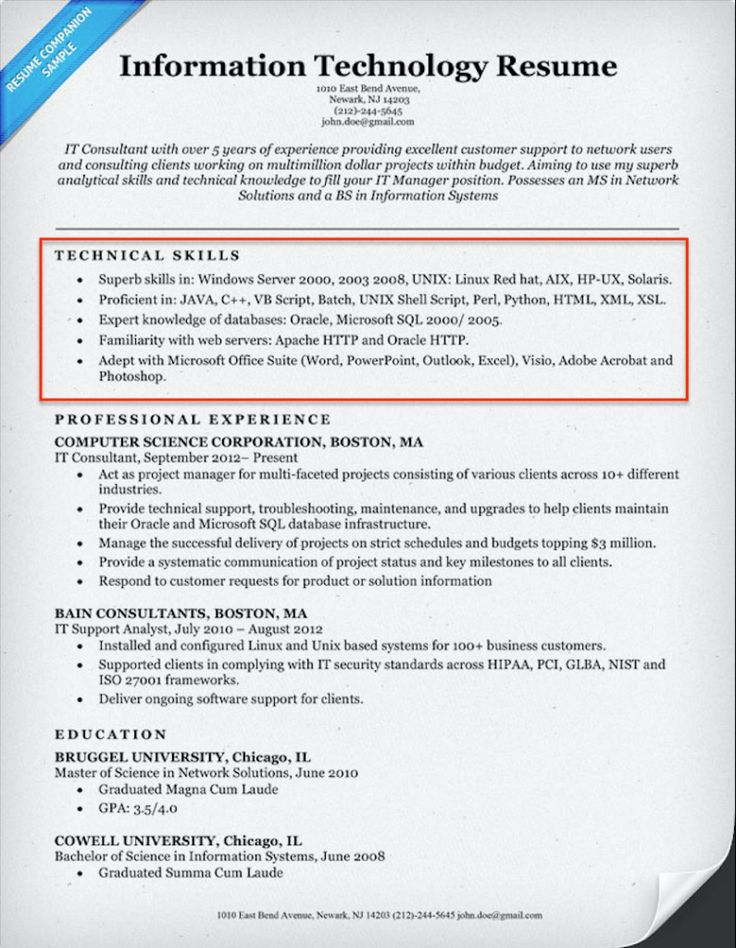 20+ Skills for Resumes Examples Included Resume Companion