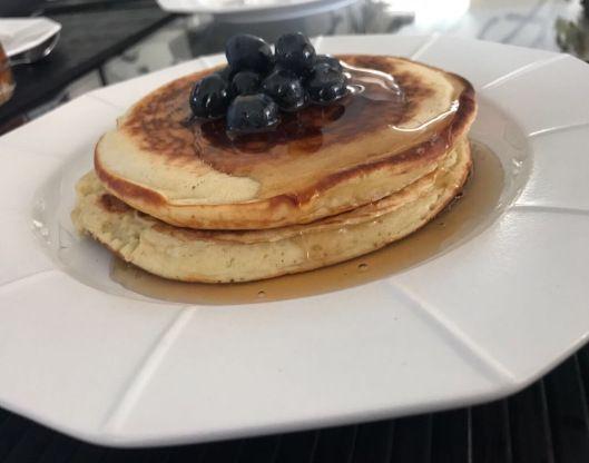 Fluffy Yogurt Pancakes   Dasha's Dish