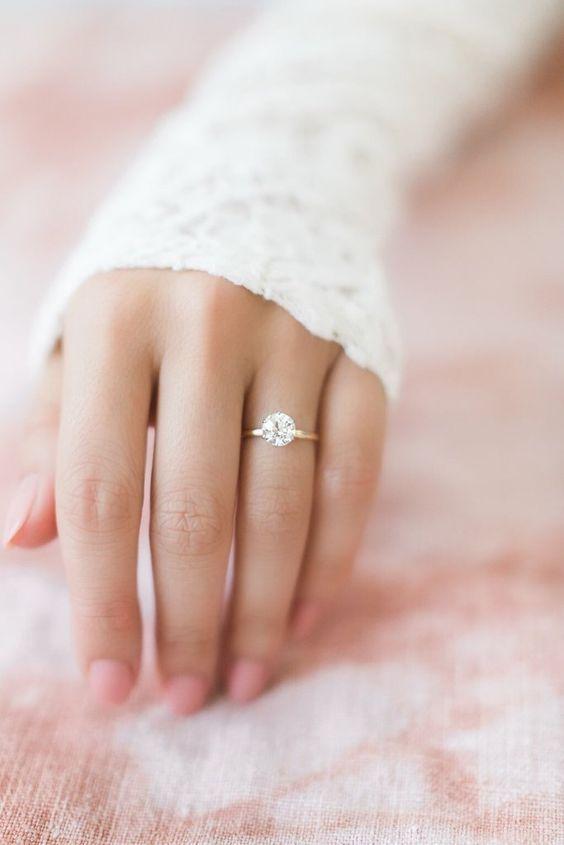 shine diamond wedding ring looks so elegant and beautiful #weddinginvitespaper #weddingringideas #elegantwedding