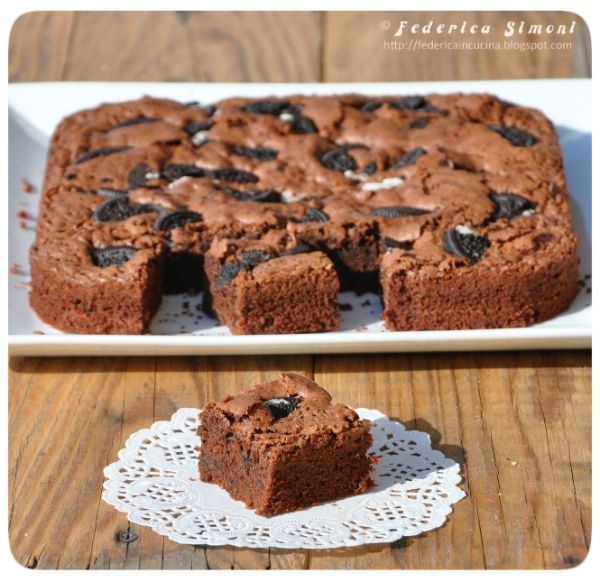 http://federicaincucina.blogspot.it/2016/02/brownies-con-oreo.html