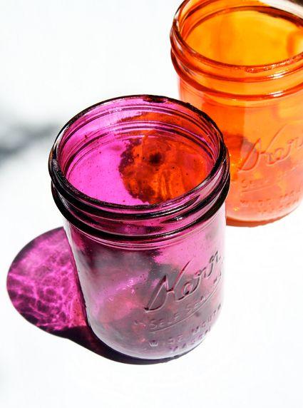 Decora frascos de cristal - Decorando el Hogar