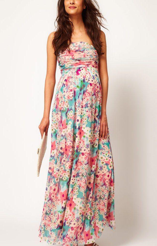 17 Best ideas about Maxi Maternity Dresses on Pinterest | Pregnant ...