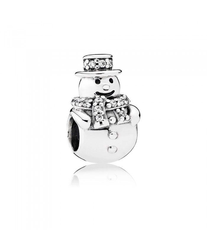 Pandora Christmas Lovely Snowman Charm UK
