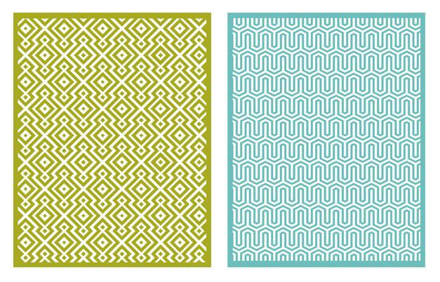 Lifestyle Crafts - QuicKutz - Embossing Folders - Sequence at Scrapbook.com
