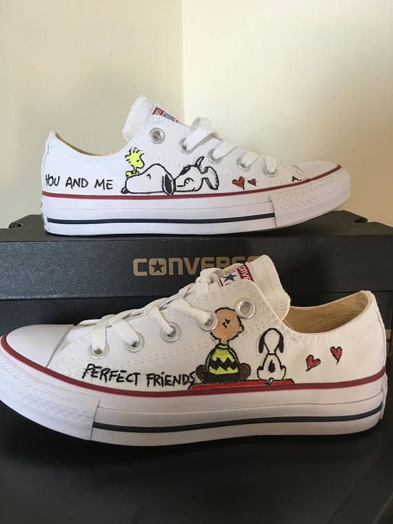 d35b25a236f9 Converse All Star Snoopy sneakers