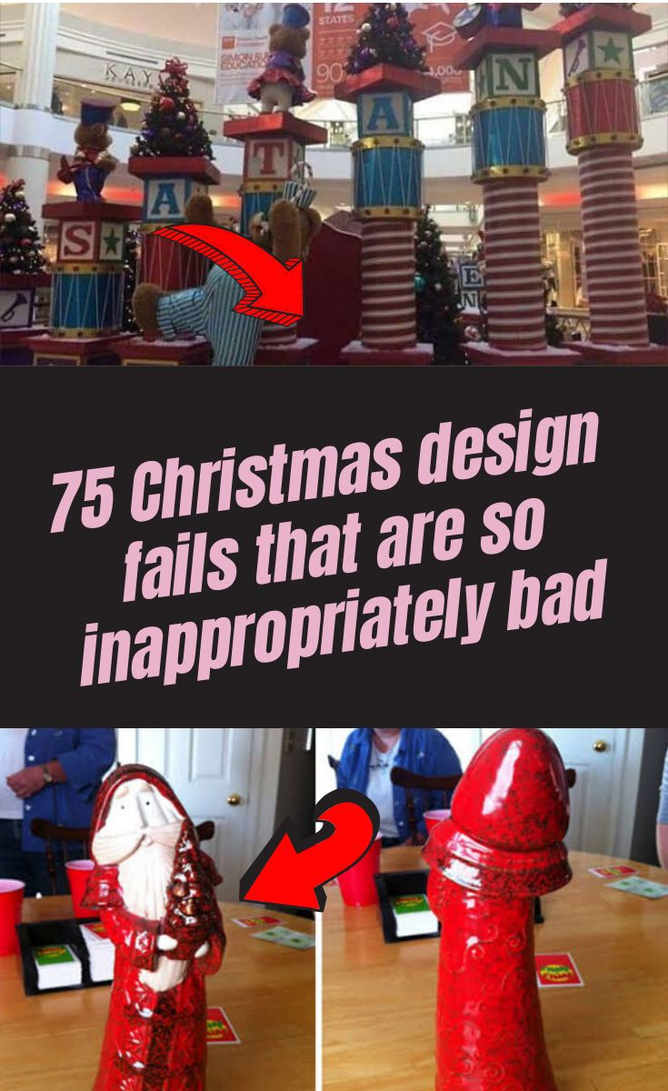 75 Christmas design fails that are so inappropriately bad