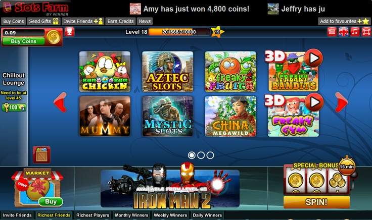 Top facebook casino games