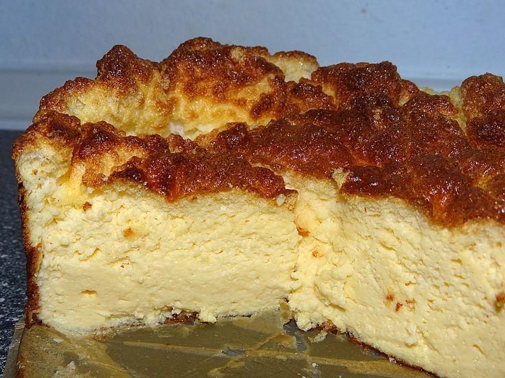 Low carb Rezepte: Low Carb Käsekuchen (ohne Boden)