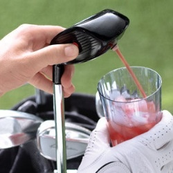The only way I'm going golfing...