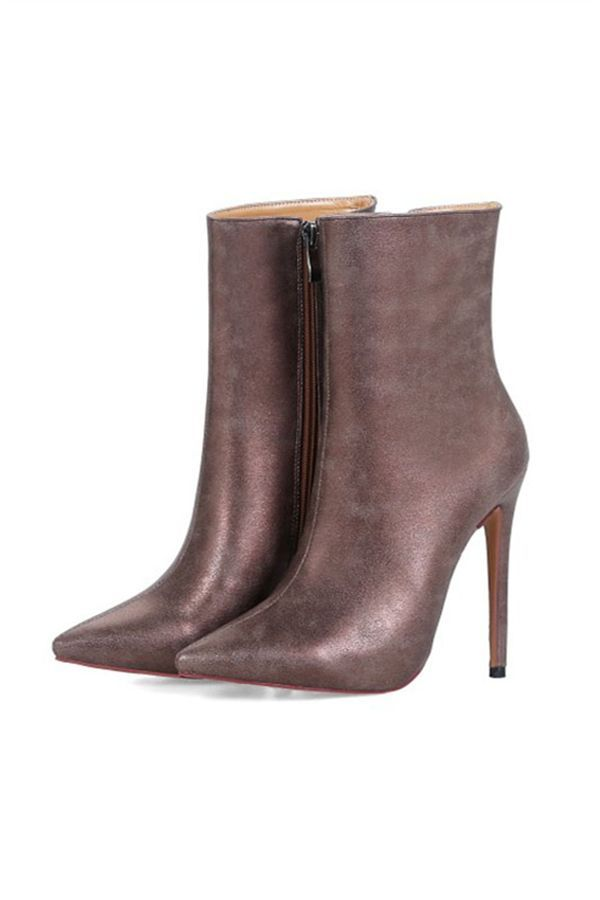 Details about  /2020 Jeans Women/'s Boots Mid-pointed Fashionable Thin High Heel Casual Boots Hot