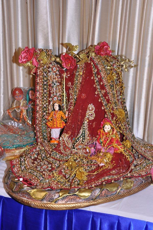 Rose n Wrap: Lehenga Packing on Rajasthani Theme